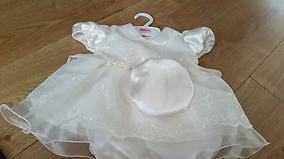 baby c christening/party dress 3 to 6 months