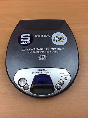 Philips Portable CD Player Model: AX1100/00Z Good Condition Fully Tested