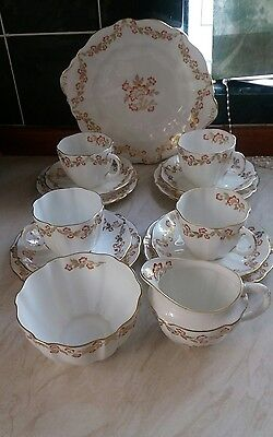 Royal Crown Derby Morlaix Pattern 15 Piece Tea Service