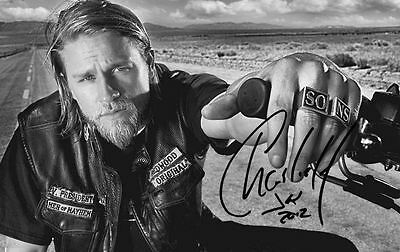 Script  / Screenplay  Sons Of Anarchy Pilot Charlie Hunnam  *signed Cover