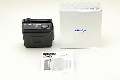 [Un-used in BOX]  Mamiya RZ67 Pro II HA703 120 Roll Film Holder from Japan