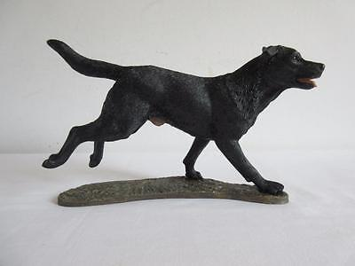 Lovely Border Fine Arts Studio Action Dogs Black Labrador A9993 With Box
