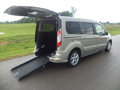 2014 Ford Transit Connect xlt 2014 FORD TRANSIT XLT  HANDICAP WHEELCHAIR VAN REAR ENTRY