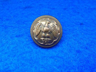 1 X Wwi/ii The Royal Irish Fusiliers 19Mm Officers Brass Tunic Button, Jennens