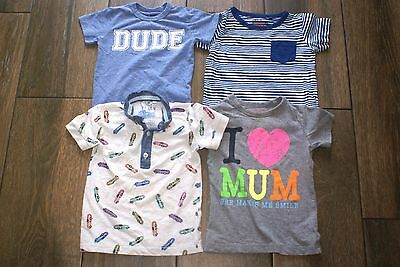 NEXT boys 4 x t-shirts bundle, 18-24 months, OTHER ITEMS FOR SALE