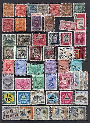 Nicaragua Stockbook Clearout - several sets