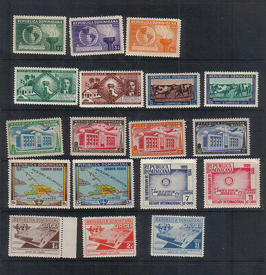 Dominican Republic 1938-56 Unmounted mint collection