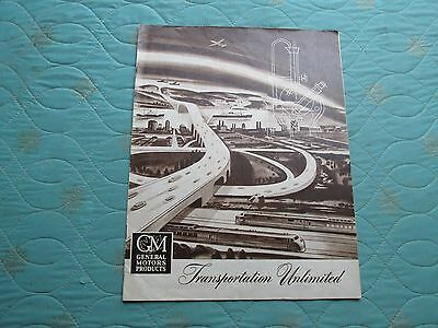 auc399  1949 General Motors brochure from Canada Cadillac Buick Pontiac Chevy