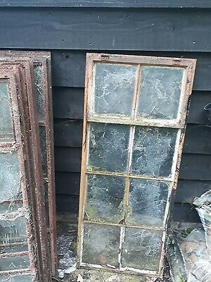 Crittall Steel Iron Wrought Antique Vintage Heritage Windows Cast Mirror Project