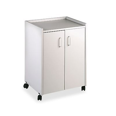 Safco Products 8953GR Mobile Refreshment Hospitality Center Gray