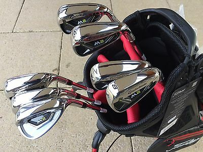Taylormade M2 2017 irons 5 - SW with regular steel shafts in MINT condition