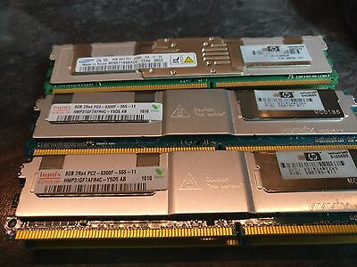 8Gb Hynix Pc2 5300F 2Rx4 Abdimm Ram For Hp 398709-071