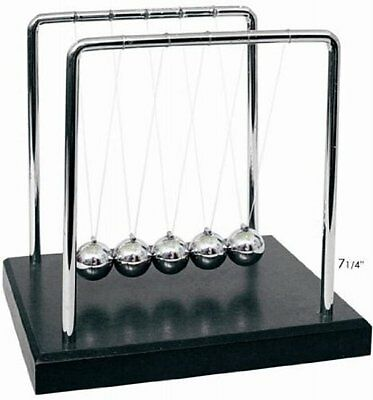 Goldenvalueable Newton's Cradle Art in Motion, 7 1/4-Inch Balance Balls, Science