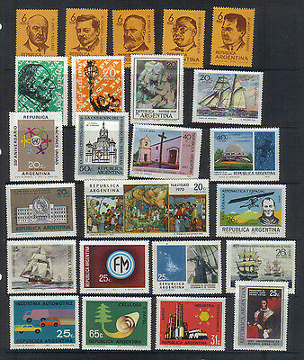 Argentina 1969-71 Mint Collection