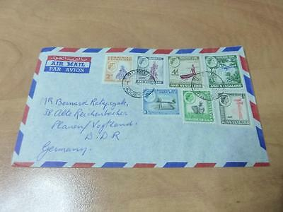 RHODESIA NYASALAND 1960's COVER TO GERMANY  RS