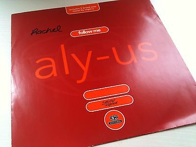 "Aly-Us - Follow Me - Oldskool 92 Garage House Classic !! 12"" Vinyl Record Dj"