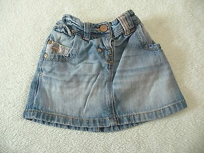 ** FAB Baby Girls Denim Skirt - Next (18 - 24 months) **