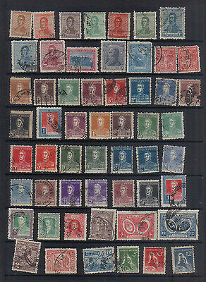 Argentina  1917-32 Used collection