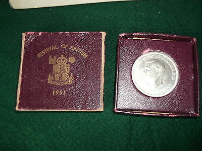 Festival Of Britain Coin & Book