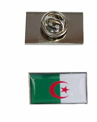 Algeria Flag Tie Pin with free organza pouch