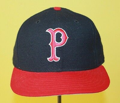 Pawtucket Red Sox ~ Vintage New Era 5950 Wool Hat ~ Size 7 3/4