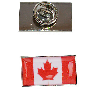 Canada Flag Tie Pin with free organza pouch
