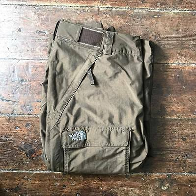 The North Face Hyvent Ski Salopettes Pants W34 L30 Olive Green
