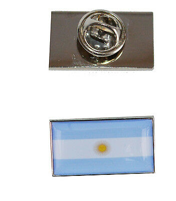 Argentina Flag Tie Pin with free organza pouch
