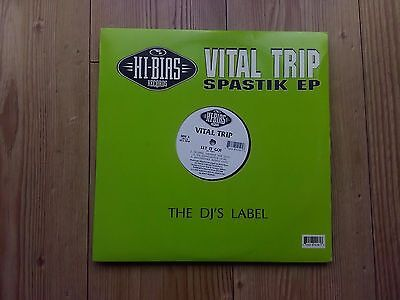 "Vital Trip ‎– Spastik EP : Hi-Bias Records 12"" 1992 HOUSE"