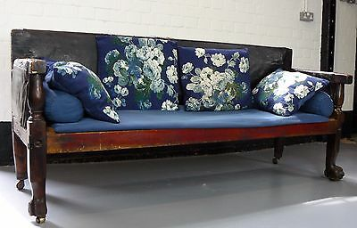 19Th Century, Victorian 6 Foot Settle / Bench Untouched Condition
