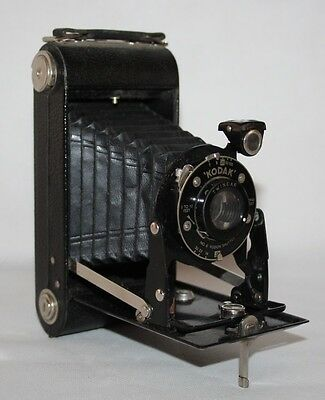 Six-20 Kodak Jr. - 1930's 620 Film Folding Camera - vgc