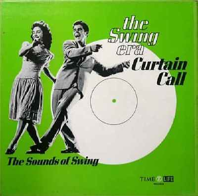 Various-The Swing Era Curtain Call: The Sounds Of Swing 3LP BOX SET LP-Time Life