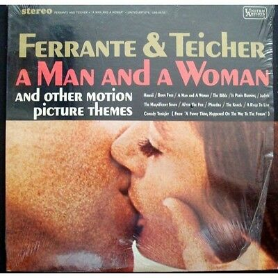 Ferrante And Teicher-A Man And A Woman LP-UNITED ARTISTS, UAL3572, CANADA 12 Tra