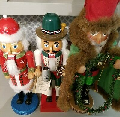 Vintage Lot of 3 collectible Nutcrackers