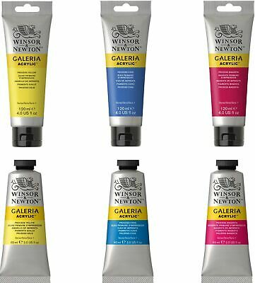 Winsor & Newton Galeria Paint 60ml & 120ml Tubes - All Colours Available