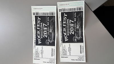 Tickets 3 dias Rock Fest Barcelona 2017