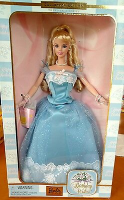 Barbie Collector Edition 3Rd In A Series Birthday Wishes Barbie Doll, Nrfb