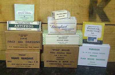 WW2 British first aid items, repro
