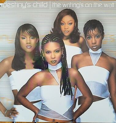 """Beyonce """" Destiny's Child"""" Writing's On The Wall Double 12"""" Vinyl Lp Mint"""
