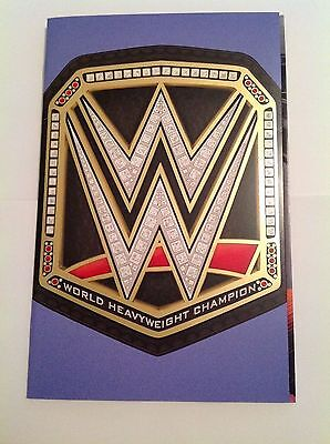 Wwe #2 World Championship Belt Foil Party Variant 1 Per Store Boom Studios
