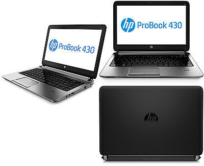 HP PROBOOK 430 G2 LAPTOP WINDOWS 10 CORE i5 WEBCAM 500GB 4GB 13.3 LCD HDMI 7271