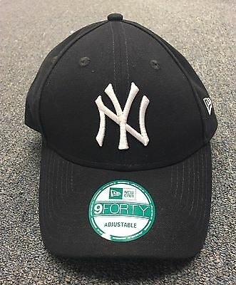 ddf96cc2d MLB NEW ERA 9Forty NY New York Yankees Youth Adjustable Curved Hat ...