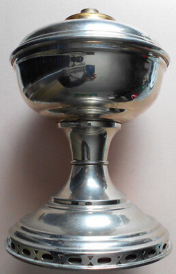 Old,ALADDIN,MODEL 11,NICKEL PLATED BRASS,LAMP BASE only ,see pics,excellent...