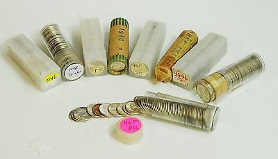 1946 Roosevelt Dime Roll - BU - ONE FROM LOT SHOWN
