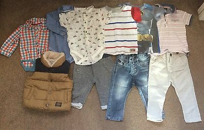 Baby Boy Next Clothes Bundle Size 6-9 And 9-12 Months