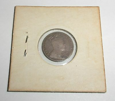 1909 Canada 10 Cents Coin