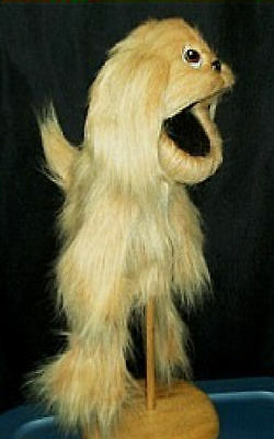 Buster Shaggy Dog Ventriloquist Puppet with wagging tail-VBS Christian ministry