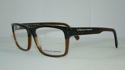 PORSCHE DESIGN P 8190 C Carbon & Brown Brille Glasses Eyeglasses Frames Size 56