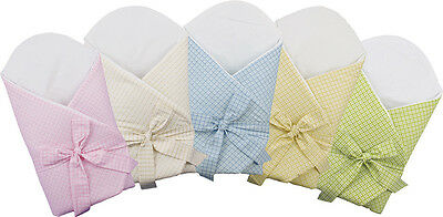 BlueberryShop Swaddle Blanket Wrap for Newborn Baby with Stiffened/Hard pink
