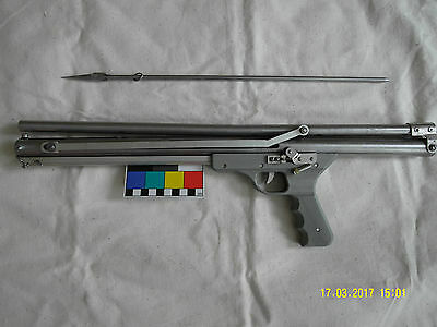 Vintage spring loaded spear gun Kharkov long Ukraine 1990s